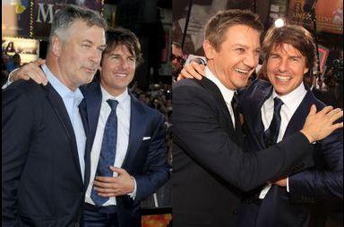 Tom Cruise rejoint Alec Baldwin et Jeremy Renner
