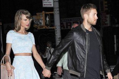 Taylor Swift et Calvin Harris plus amoureux que jamais
