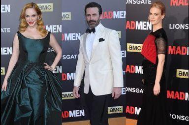 """Les acteurs célèbrent la fin de """"Mad Men"""""""