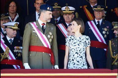 Letizia, un anniversaire de mariage pas très intime