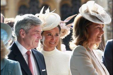 Les invités du baptême de la princesse Charlotte