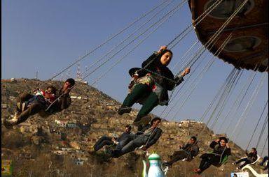 Jeu d'enfant à Kaboul