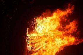 """Dans les flammes du """"Burning Man"""""""
