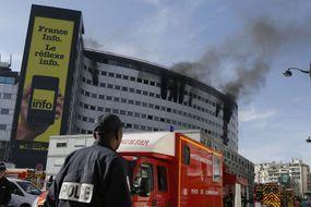 L'incendie est éteint à la Maison de la radio