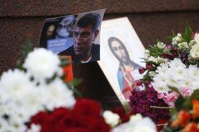 """""""L'odieux assassinat"""" de l'opposant russe Boris Nemtsov"""