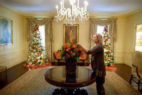 Fleurs épineuses à la Maison Blanche