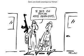 """""""La BD est Charlie"""": les premiers dessins"""