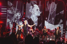 Hier soir à Paris… Robbie Williams