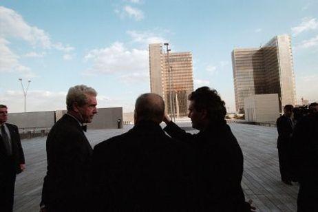 Il y a 20 ans, François Mitterand inaugure la BNF