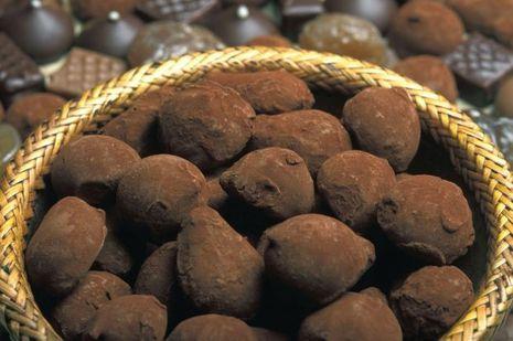 A la Maison du Chocolat.