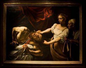 «Judith décapitant Holopherne», Galerie nationale d'art ancien (Rome).