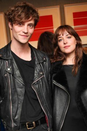 Matthew Hitt et Dakota Johnson, à New York en octobre dernier