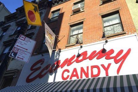 Lower east side: Magasin de bonbons vintage.