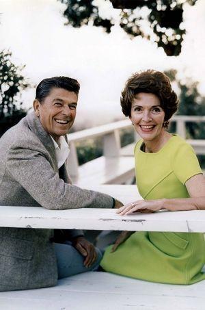 Ronald et Nancy dans les années 80.
