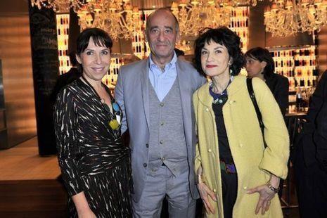 _Didier Krzentovski entre Sylvie de Chirée et Cath. Schwaab-