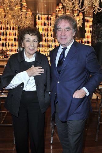 _Les designers Maria Pergay et J-Michel Wilmotte-