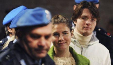 Amanda Knox et Raffaele Sollecito-