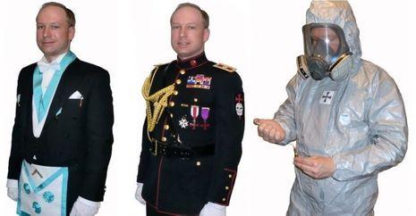 Anders Behring Breivik déguisement-