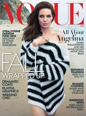 """Une de """"Vogue US"""" du mois de novembre 2015."""