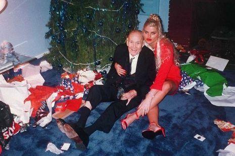 Anna Nicole Smith et son époux J. Howard Marshall