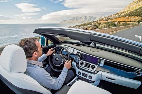 Au volant de la Rolls-Royce Dawn