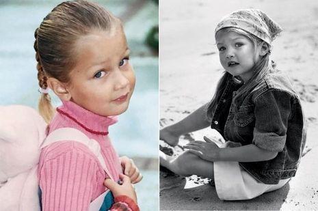 Bella et Gigi, petites filles modèles.