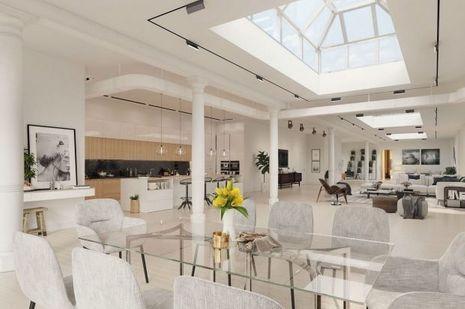 Le salon de Heidi Klum.