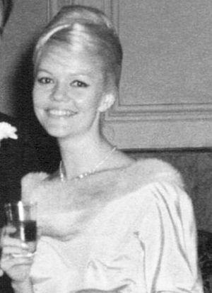 Brigitt Hoess, après son départ d'Allemagne, dans les années 1950. Elle est alors mannequin en Espagne.