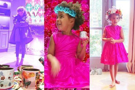 Blue Ivy et Beyoncé fêtent Pâques