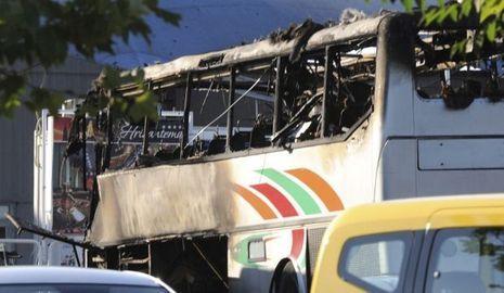 Bus Touristes israéliens Bulgarie Burgas-