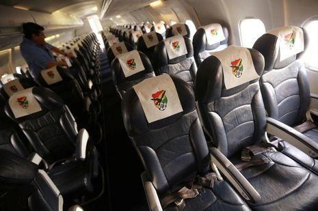 C'est dans un avion comme celui-ci que se trouvaient les passagers.