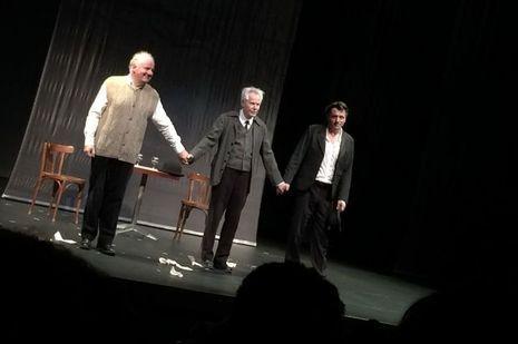 Eric Prat, François Marthouret et Pierre Cassignard.