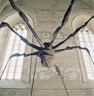 «Spider», 1995, acier de Louise Bourgeois.
