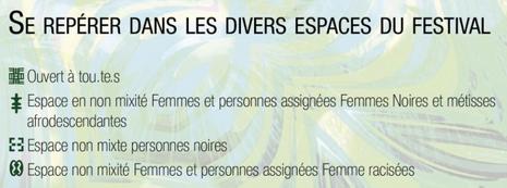 Informations du programme du festival.