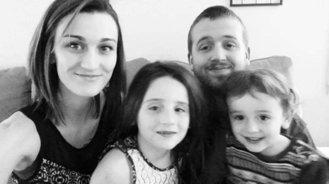 Daniel Shaver, sa femme et leurs enfants