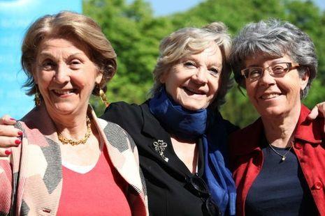 Catherine Lamour, Marianne Lamour, Daniäle Granet ∏ Babeth Si Ramdane