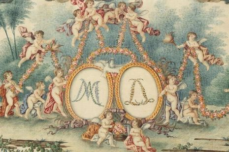Coffre layette Marie Antoinette Flammarion