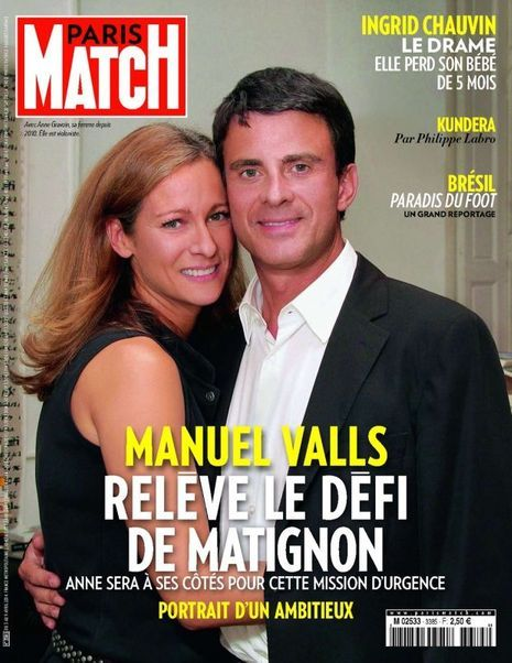 Couverture Paris Match n° 3385