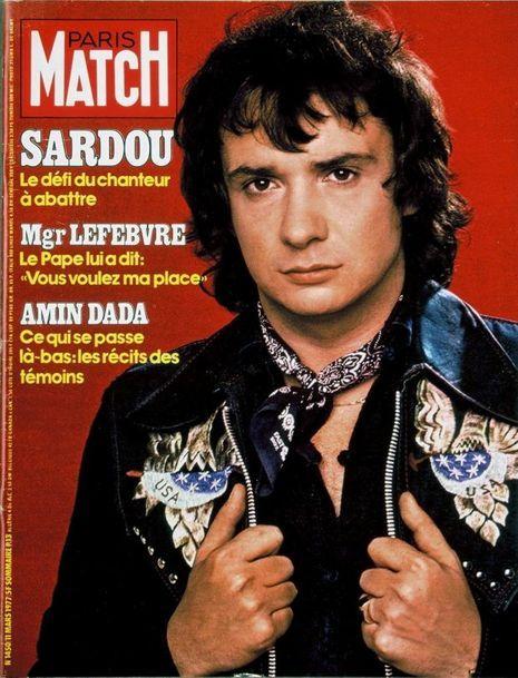 Paris Match couverture du numéro 1450.