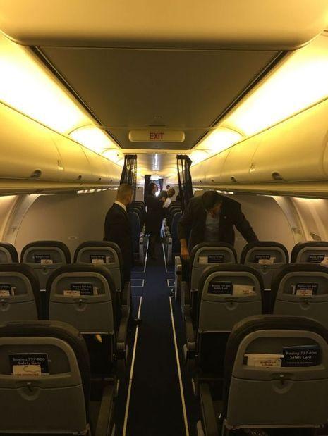 Dans l'avion d'Hillary Clinton