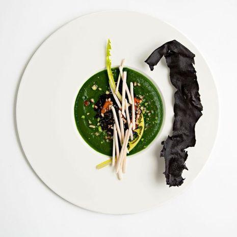 Des plats travaillés comme des oeuvres d'art.