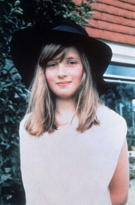 Diana Spencer en 1971.