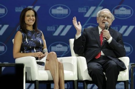 Dina-Powell-Warren-Buffett