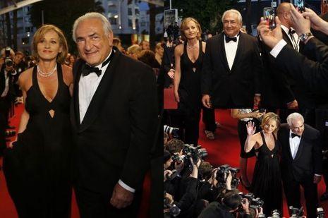 Dominique Strauss-Kahn Myriam L'Aouffir Cannes