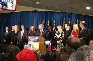 Donald Trump dans le New Hampshire