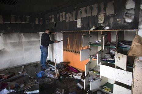 Ecole-incendiée