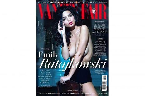 """Emily Ratajkowski en couverture de la version espagnole de """"Vanity Fair"""""""