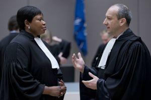 Emmanuel Altit et Fatou Bensouda