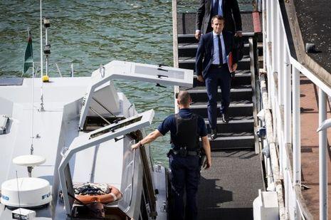 Emmanuel Macron Bercy