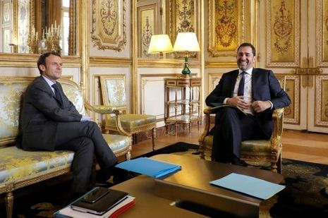 Emmanuel Macron reçoit Christophe Castaner, lundi.